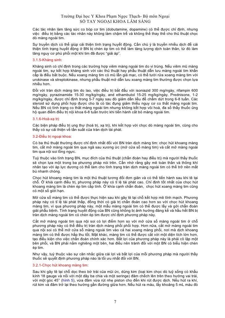 Trường Đại học Y Khoa Phạm Ngọc Thạch- Bộ môn Ngoại                             SỔ TAY NGOẠI KHOA LÂM SÀNG Các tác nhân là...