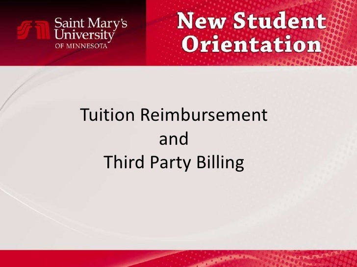 tuition reimbursement 3 essay Tuition refund insurance essay an overview of the tuition refund industry, looking at some of the objections to the programs offered by this industry and who stands to benefit from these programs.