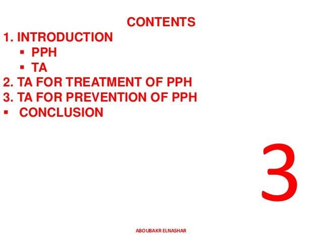 TRANXAMIC ACID IN MANAGEMENT OF POSTPARTUM HEMORRHAGE Slide 2