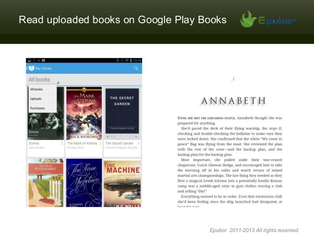 Google Play Books Epub