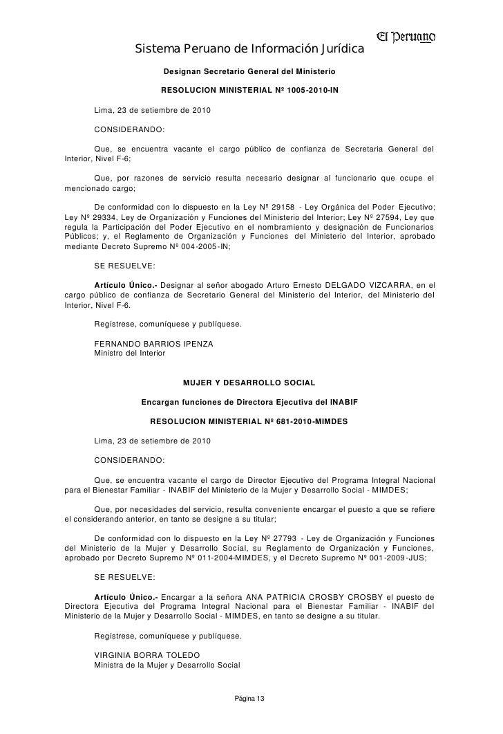 Tranferencia de fondos for Secretaria del ministerio del interior