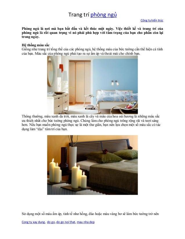 """Trang trí phòng ngủ Công ty kiến trúc Cong ty xay dung, do go, do go noi that, mau nha dep trong ngày. ụ """" ị """" Sử ụ ồ đ ặ"""