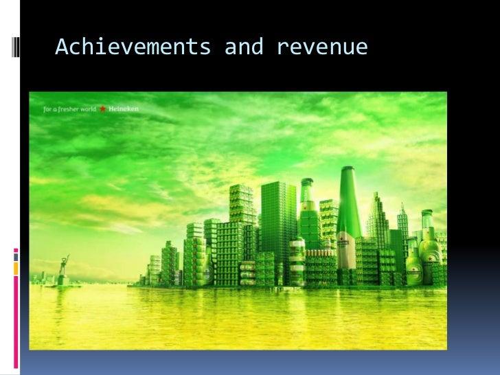 Achievements and revenue