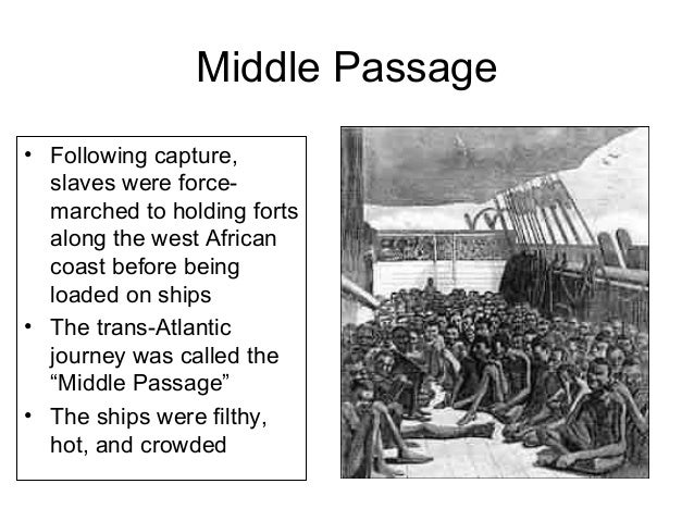 Hypertension in african americans and the middle passage