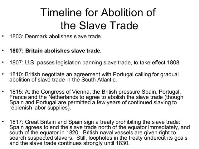 abolition of trans-atlantic slave trade essay The trans-atlantic slave trade: a forgotten crime  c the abolition of the trans-atlantic slave trade 929  part i of this essay.