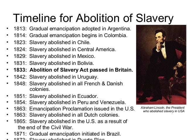 the end of slavery through the emancipation proclamation under the leadership of abraham lincoln Although the emancipation proclamation did not end slavery in america--this was achieved by the passage of the 13th amendment to the constitution on dec 18, 1865--it did make that accomplishment a basic war goal and a virtual certainty.