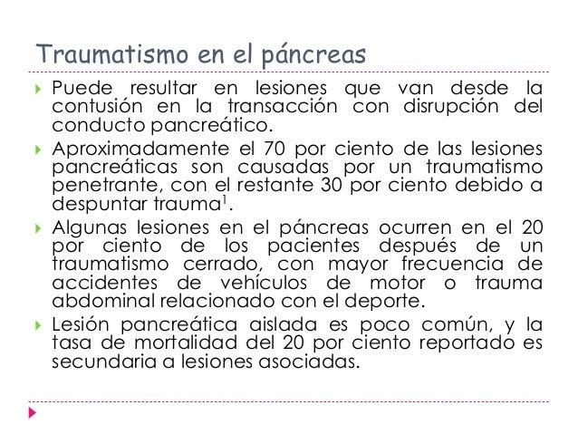 Transacción traumática de páncreas Slide 3