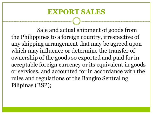 value added tax of the philippines Value added tax (vat) in the philippines is a tax that each and every  input  vat refers to vat the buyer pays on purchase from vat registered and only vat .