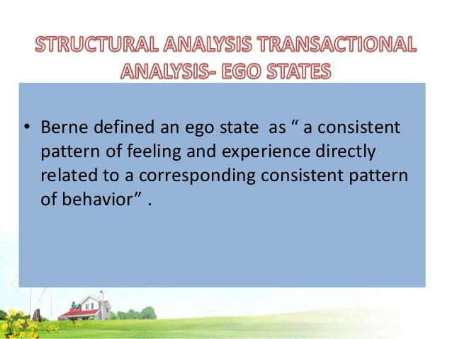What is Transactional Analysis?