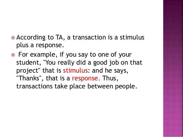 Transactional analysis Slide 3
