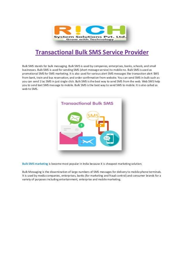 Transactional bulk sms service provider1