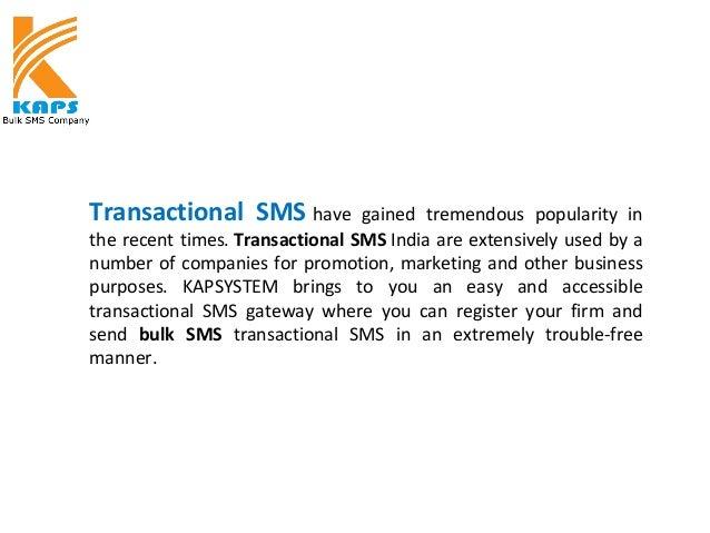 Transactional sms Service Provider Slide 2