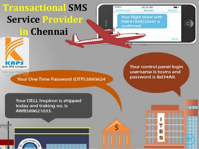 Transactional SMS Service Provider in Chennai