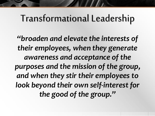 transformational leadership advantages There is a growing consensus that an approach called transformational leadership is the model that progressive and transformational and servant leadership.