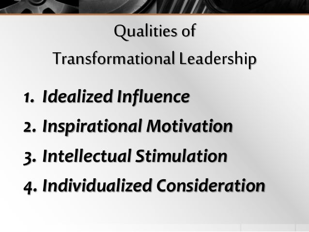 limitations of transformational leadership Leadership theory and educational outcomes: it examines the limitations of the two theories and transformational leadership is characterised by an explicit.