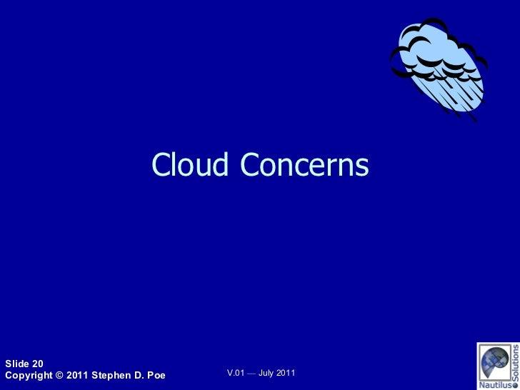Cloud Concerns