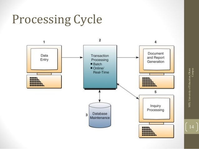 information systems transaction processing systems