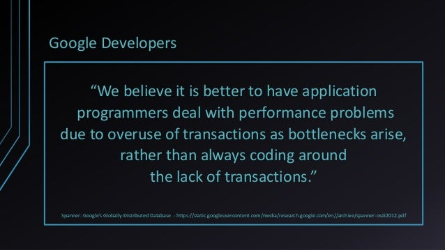Transactions and Concurrency Control Patterns Slide 3