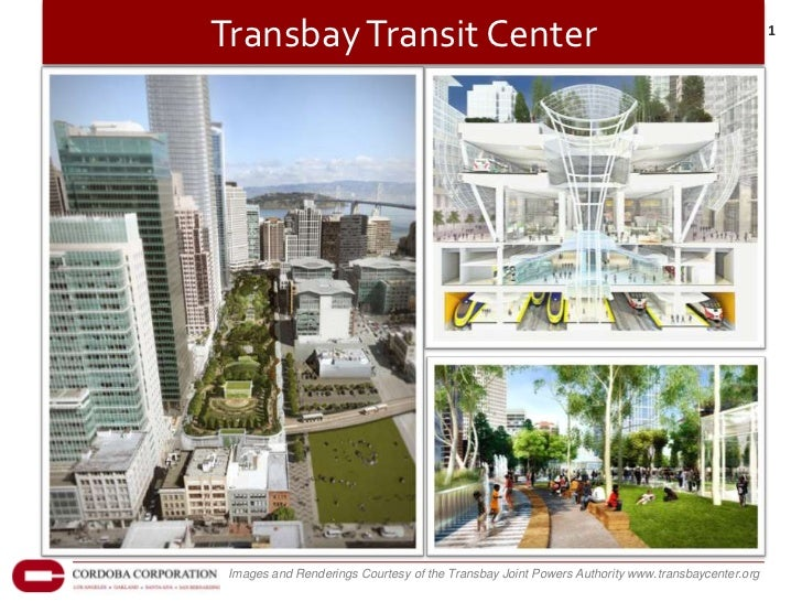 Transbay Transit Center                                                                         1 Images and Renderings Co...