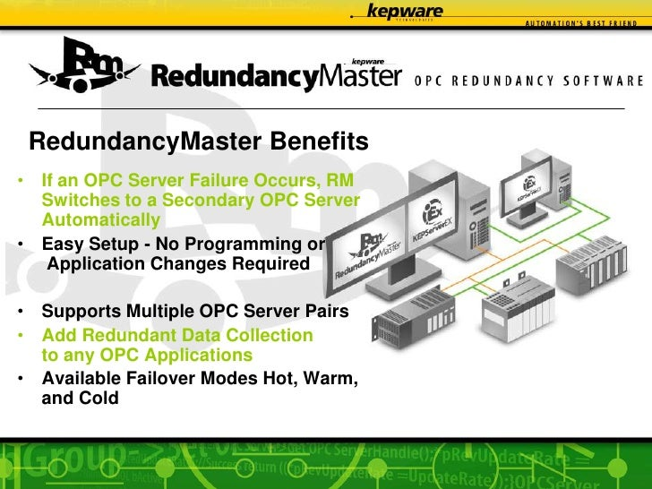 Transcend Automation's Kepware OPC Products