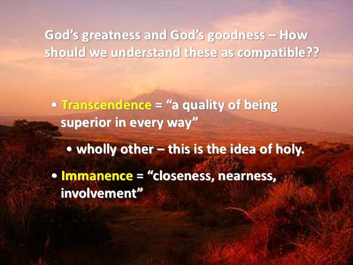 the two categories for the attributes of god Places geographic characteristics are divided into two categories: physical   religion - is a belief in a god or gods and the way people express this belief in  their.