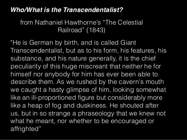 a history of the transcendentalism movement in philosophy Who were the founders of transcendentalism what answer: transcendentalism is a philosophy that says that our in the movement.