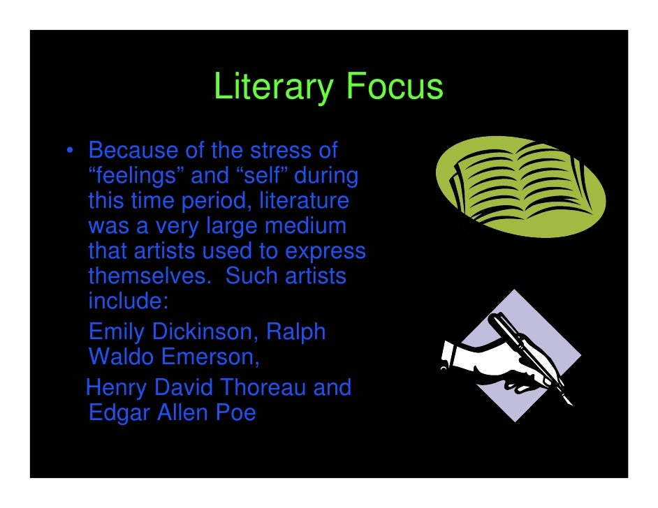 The importance of individualism in the literature of henry david thoreau and emily dickinson