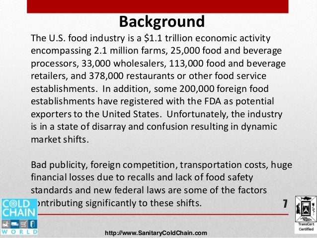 Food And Beverage Guidelines For Food Trucks