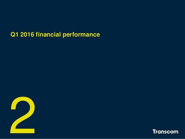 Q1 2016 financial performance 2