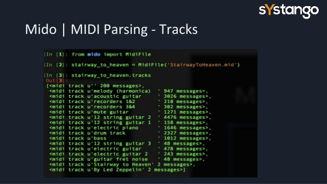 Learn Guitar Python Programming (Midi Parsing)