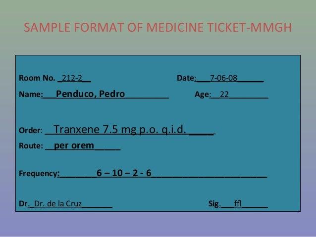 Transcribing Doctor S Order
