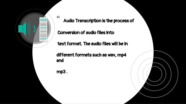 audio file to text converter