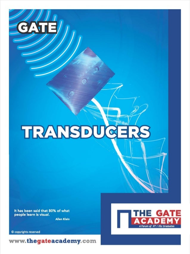 Transducers for Instrumentation Engineering By www.thegateacademy.com