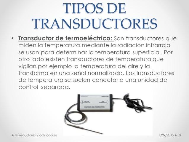 Transductores Y Actuadores