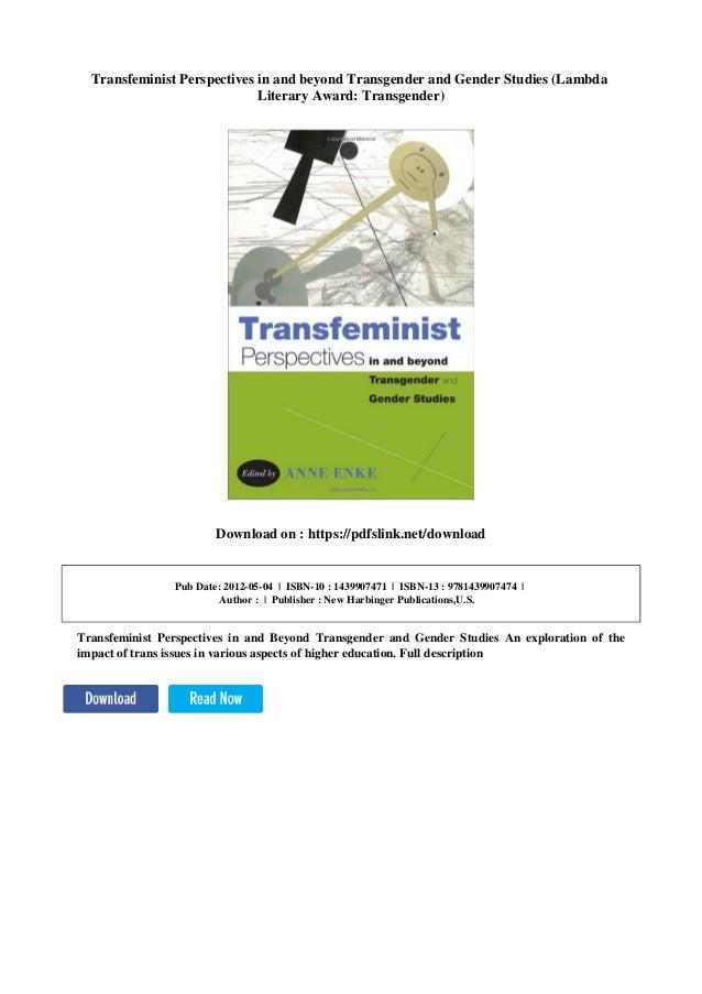 Transfeminism trans men dating site