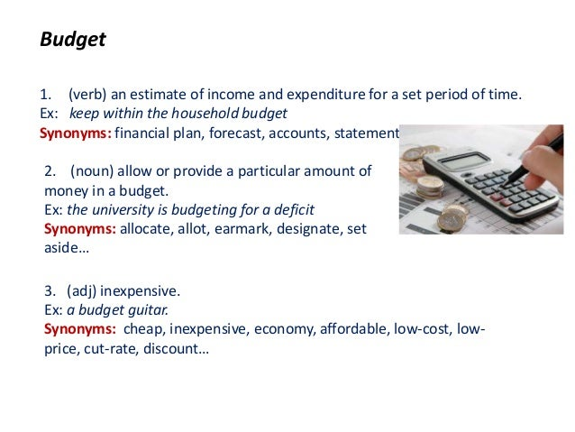 Under Budgeted synonym