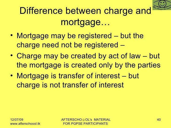 anomalous mortgage