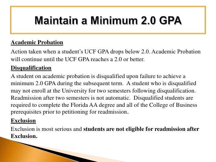 Ucf Gpa Requirements >> 2010 Fall Orientation Transfer Students