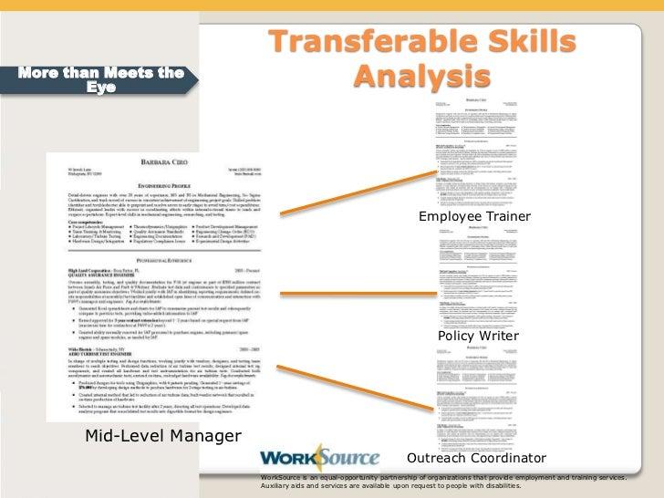 Transferable Skills ...  Transferable Skills Resume Sample