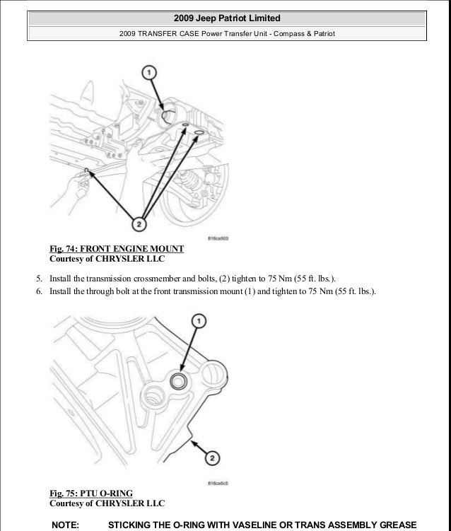 2007 jeep compass user manual