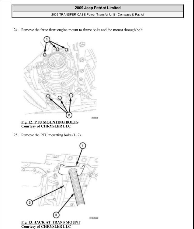 service manual  2009 jeep compass transmission diagram for