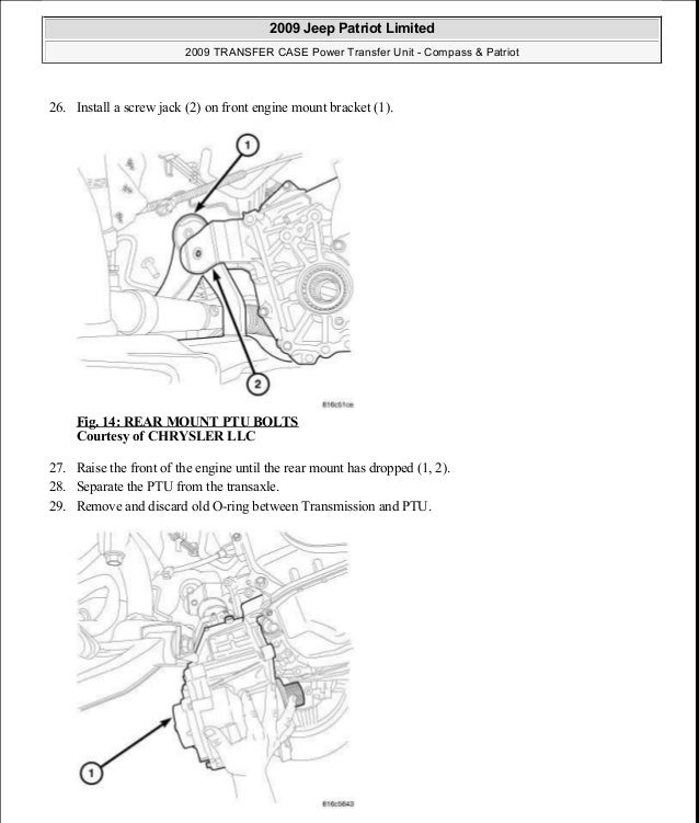 2007 jeep compass manual transmission problems | Manual