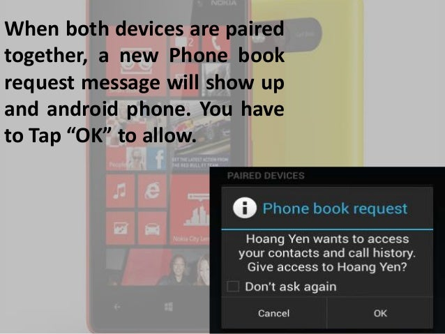 how to change a contact from iphone to android