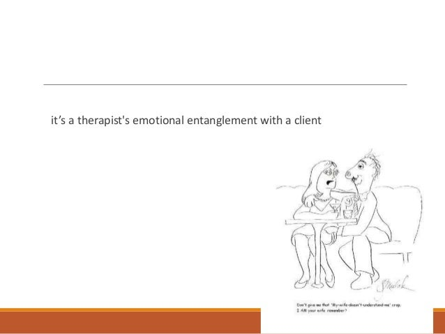 therapist patient relationship transference and counter
