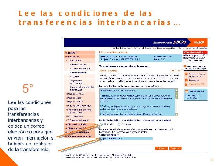 Transferencias bcp for Banesco online consulta de saldo cuenta de ahorro