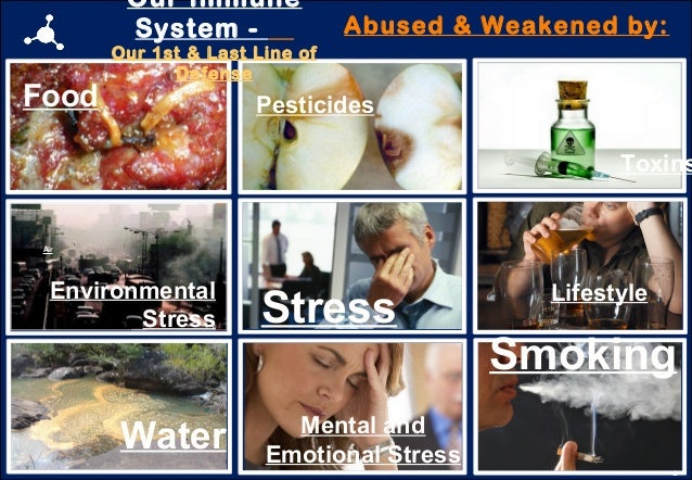11 Water Air Stress Smoking Lifestyle Mental and Emotional Stress Environmental Stress Food Pesticides Toxins Our Immune S...
