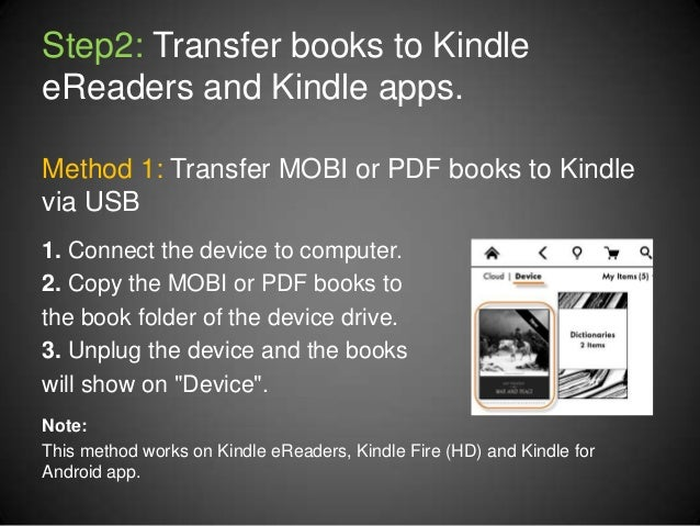 Convert PDF to Kindle with PDF to Kindle Converter