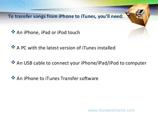 copy music from iphone to computer how to transfer from iphone or ipod to itunes 2974