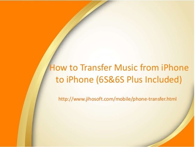 how to transfer music from iphone to iphone transfer from iphone to iphone 1664