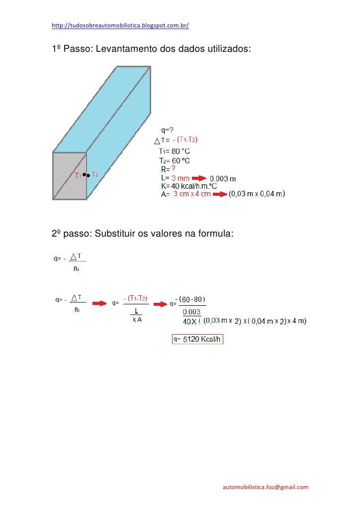 Transferência de calor por condução em paredes planas, paralelas e planas Slide 3